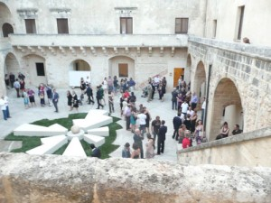 Courtyard of Aragonese Castle of Otranto